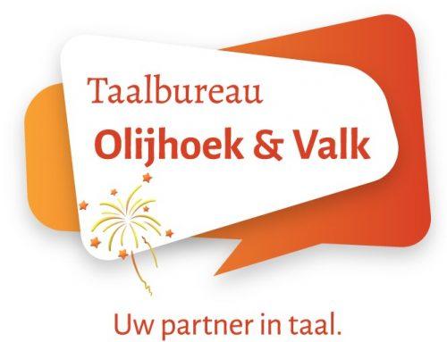 Hoera, Taalbureau Olijhoek & Valk bestaat 5 jaar!